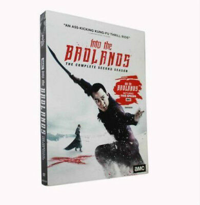 Into the Badlands Season 2 (DVD, 3-Disc Set) Brand New Sealed -- Free shipping