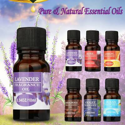 100% Pure Natural Premium Essential Oils Aromatherapy 10ml Stress Relie Scent