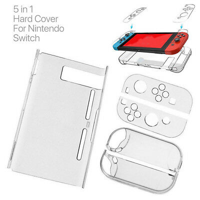 Transparent Case Cover Shell Protective For Nintendo Switch Console Game K7I4L