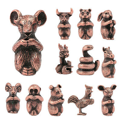 Traditional Chinese Zodiac Animals Statute Wealth Lucky Fortune Collections