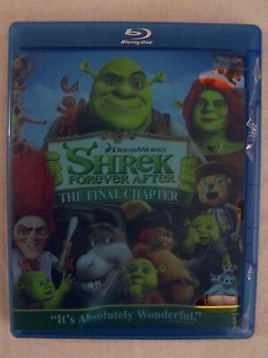 Movie Blu-Ray - SHREK FOREVER AFTER THE FINAL CHAPTER - Pre-Owned - Dreamworks