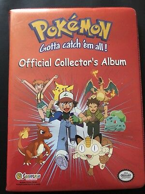 Pokemon - Trading Card Game Folder Album Binder Charizard Nintendo - No Crystal