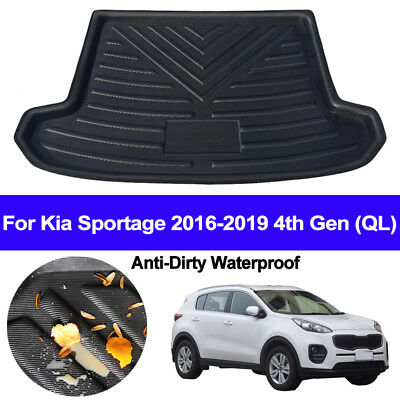 Rear Boot Cargo Liner Trunk Floor Mat Tray For Kia Sportage 2016 - 2018 2019 QL