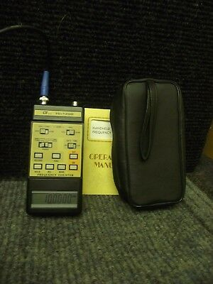 Frequenzzähler bis 1,25 Ghz HANDHELD FREQUENCY COUNTER 10Hz-1,25 Ghz  DCF Tested