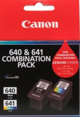 Genuine Canon PG-640 CL-641 Combination Pack