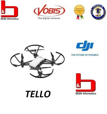 DJI Tello Quadricopter Drone with camera HD and VR powered by Ryze Intel ITA GLS