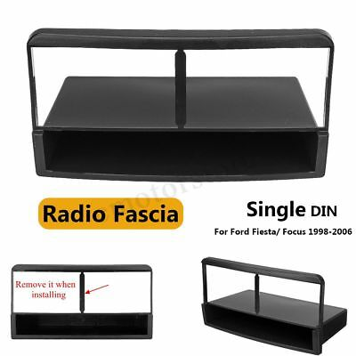 Car Radio DVD Stereo Fascia Panel Plate Frame 1 Din For Ford Fiesta Focus 98-06