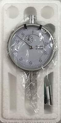 Dial Indicator Gauge Precise Measuring Metric 0 - 10mm  **NEW** FREE POST