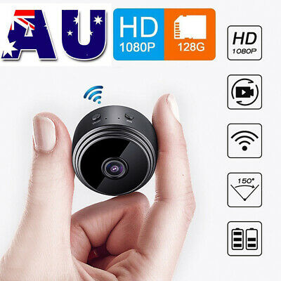 1080P HD Smart Home Security Camera Wi-Fi Wireless Night Vision Baby Pet Monitor