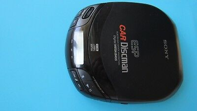 Sony  Discman ESP car D-84OK Funktionstüchtig CD compact player