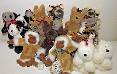 VINTAGE BOYDS BEARS NOAH'S ARK paired animals SOLD SEPATATELY