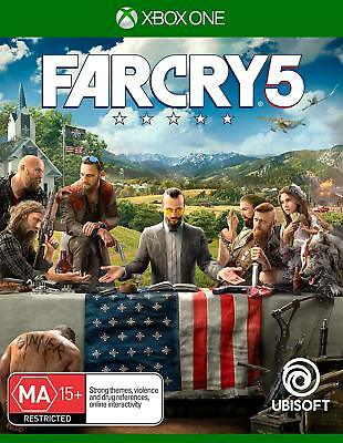 Far Cry 5 Xbox One Brand New Game