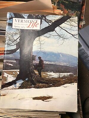 Vermont Life Magazine Spring 1963 History Rare Historic Books Barns