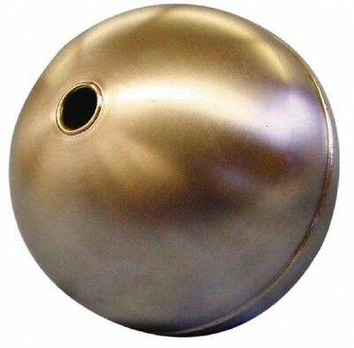 Made in USA 6 Inch Diameter, Spherical, Tubed Through Connection, Metal Float...