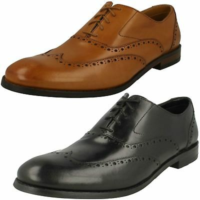 Mens Clarks Edward Walk Smart Leather Brogue Detail Lace Up Shoes G Fitting