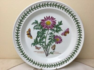 Portmeirion Botanic Garden Dinner Plate Chrysanthemum Looks Unused 26.70cm