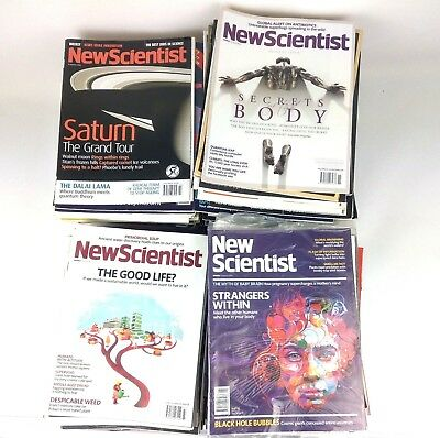 New Scientist 5 Mixed Magazine Bundle, Various, Random 5 Science Papers