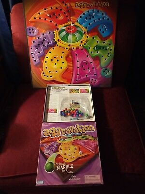 Aggravation BoardGame 2002 Edition 100% COMPLETE GAME! PARKER BROTHERS HASBRO