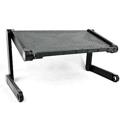 Folding Laptop Stand Adjustable Desk, Portable Computer Breakfast in Bed table