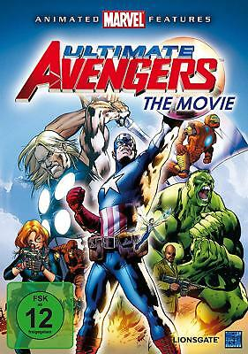 DVD Ultimate Avengers - The Movie (2010) Marvel - NEU