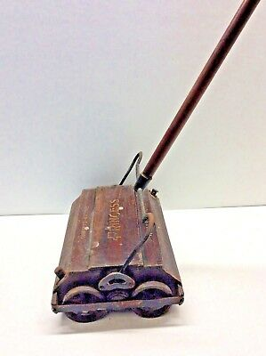 Antique Shapleigh Hardware Company Roller Bearing Princess Floor Sweeper, 1900's