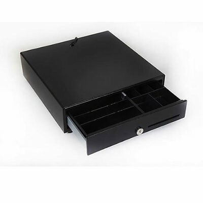 Compact Small Cash Drawer UK Spec. 24v  5 banknote, 8 coins till drawer.