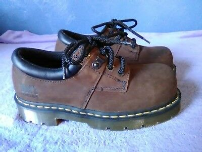 Dr Martens Air Wair mans Industrial Steel Toe Safety Shoe Size 6M