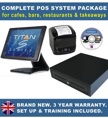 Sam4s Hospitality ePOS System for Pub, Bar, Cafe, Takeaway or Restaurant
