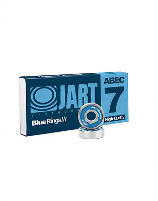 Jart Blue Rings Bearings Abec 7 Skateboard Kugellager