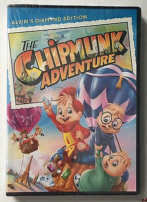 THE CHIPMUNK ADVENTURE (DVD, 2014) FACTORY SEALED / R1