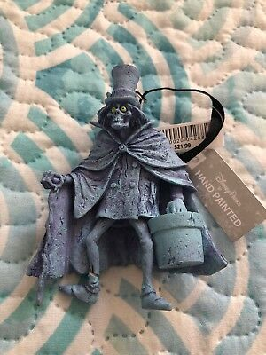 Disney Parks Haunted Mansion Hatbox Ghost Christmas Ornament