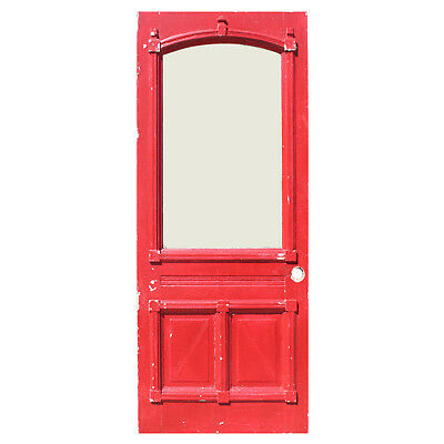 Antique Eastlake Door with Arched Window,  NED916