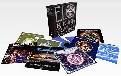 "ELO 7"" x 16 The UK Singles Volume One 1972-1978 NEW 2018 BOX Set Vinyl IN STOCK"