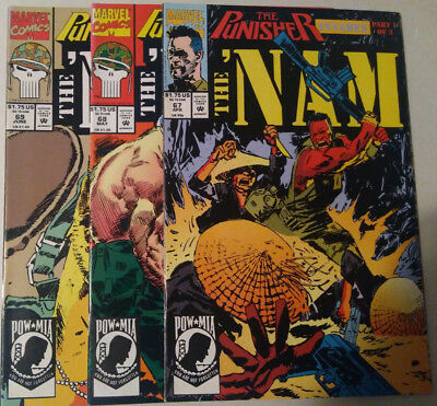 The 'Nam/The Punisher Invades/ Marvel Comics/good condition