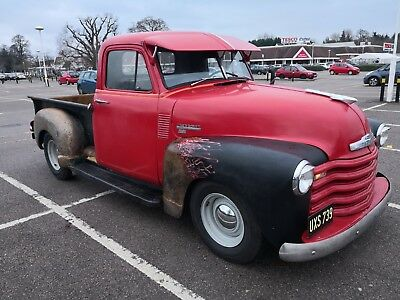 Chevrolet series 1 pickup truck 1949 hot rod chevy V8 rat rod