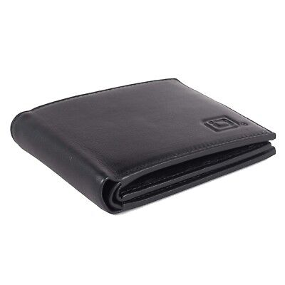 ID Stronghold RFID Mens 10 Slot Bifold Wallet - RFID Blocking Wallets for Men
