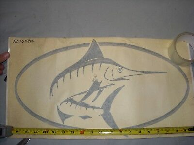 Bayliner Trophy Marlin Decal Port Side BAY58446 58446 20'' x 11''