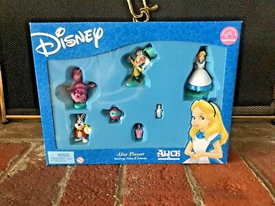 New Sealed Alice in Adverntures in Wonderland PVC Disney Playset by Applause '03