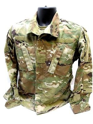 ARMY OCP SCORPION W2 MULTICAM TOP LARGE/SHORT UNIFORM COAT NORMAL MATERIAL b8