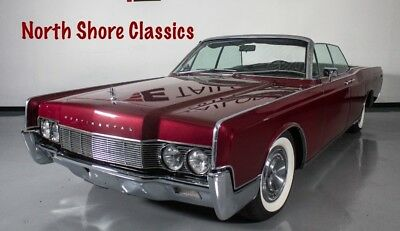 1967 Continental CLEAN CONVERTIBLE SUICIDE CAR-SEE VIDEO 1967 Lincoln Continental, Burgandy with 48,455 Miles available now!
