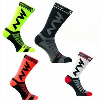 Breathable Adult Men Compression Long Socks Warm Football Socks Running Socks VF