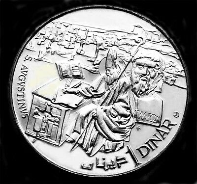 Tunesia 1969 Silver Proof Dinar  ICG Certified PR65 DCAM  St Augustine