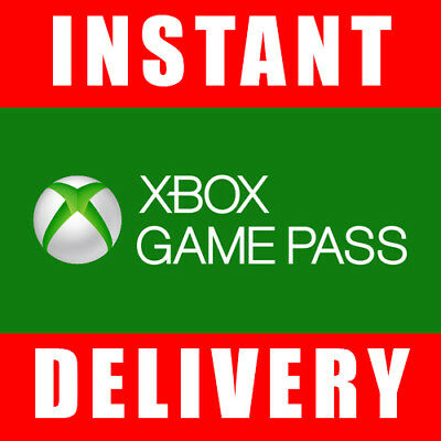 Xbox Game Pass 14 Day Trial Code for Xbox One (2 Weeks) - Instant Dispatch 24/7