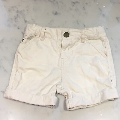 Little Bird By Jools Mothercare Cream Shorts 12-18 Months-Girls Or Boys