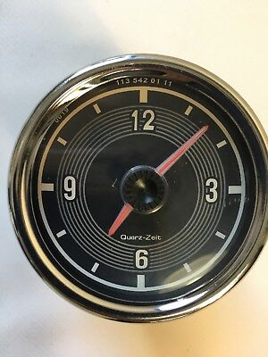 New Clock with Bracket fits  230sl 250sl 280sl w113 113 pagoda W100 600 limo