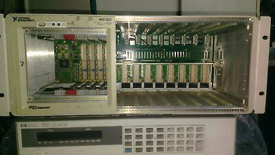 Mainframe PXI 1011 national instruments