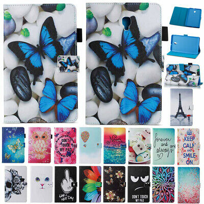 For Samsung Galaxy Tab A 8.0 SM-T380 SM-T385 2017 Flip Smart Leather Case Cover