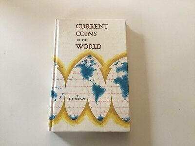 Vintage First Edition 1966 Current Coins Of The World Rs Yeoman