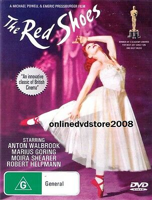 The RED SHOES (Anton WALBROOK Moira SHEARER) Ballet Dancing Classic Film DVD NEW