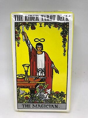 Original The Rider -Waite Tarot Deck Cards Brand New Sealed